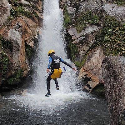 Abel Tasman waterfalls