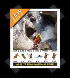 Waterfalls Abel Tasman