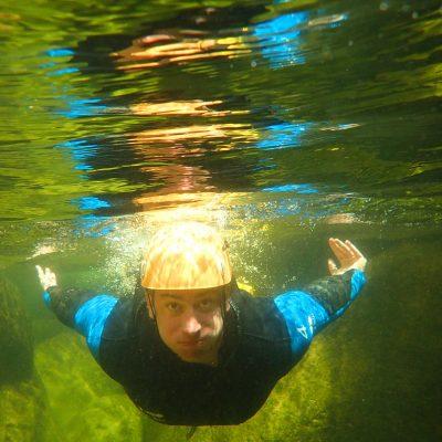 canyoning-swim