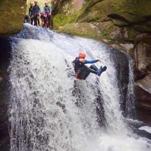 Epic canyoning New Zealand