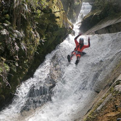 adventure canyoning nz