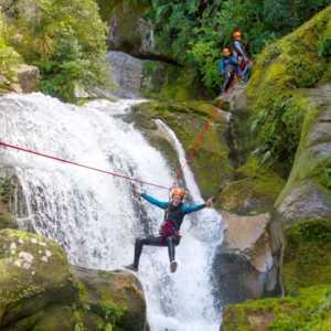 Canyoning NZ - zipline