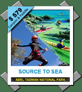 Abel Tasman Canyons park 2021