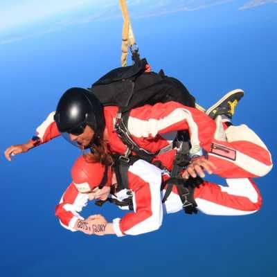 skydive abel tasman NZ - canyoning