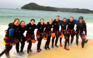 canyoning adventure NZ