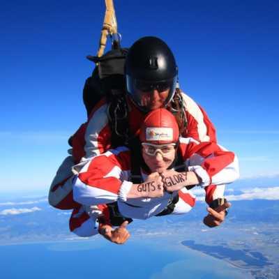 Skydive-canyoning combo Abel Tasman