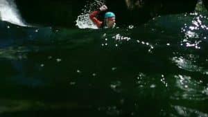 Canyoning tricks NZ