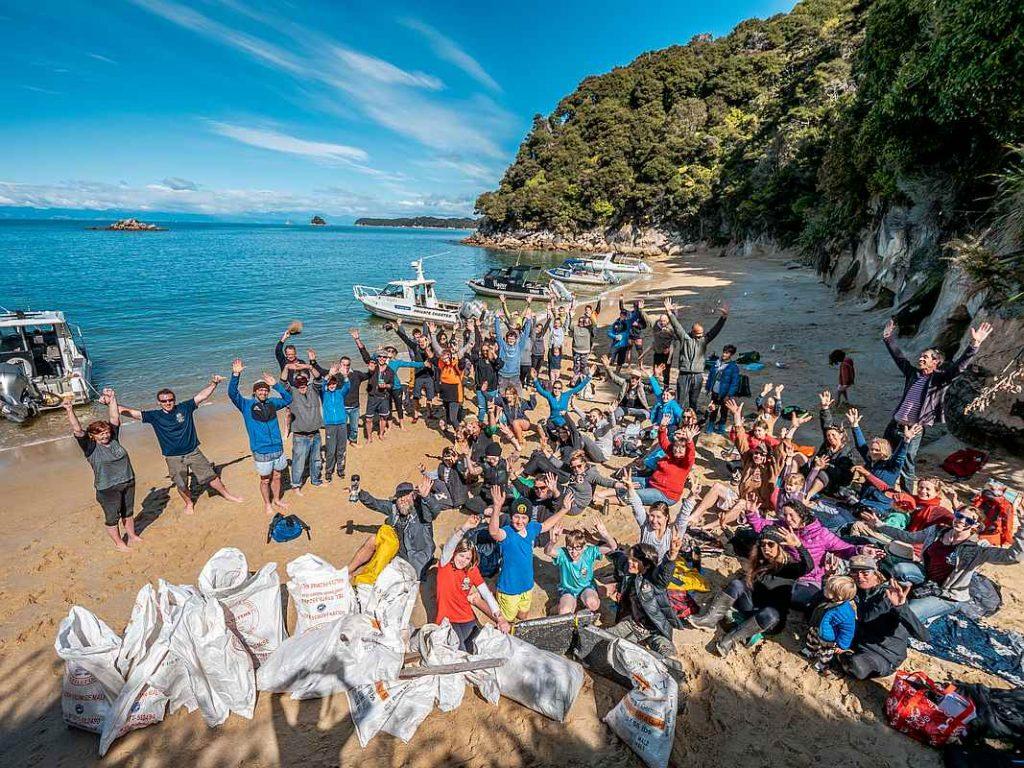 Abel Tasman Beach Clean